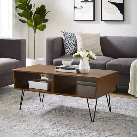 Thank you for read mid century modern coffee table article. Manor Park Mid-Century Modern Wood Coffee Table - Acorn - Walmart.com