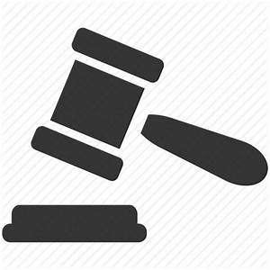 Auction, court, gavel, hammer, justice, law icon | Icon ...