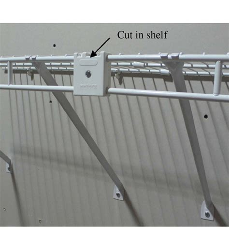 wire shelf joiner clip kit  wire closet shelving