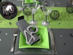 Idee Deco Table Anniversaire 70 Ans : idee decoration table 40 ans ~ Dode.kayakingforconservation.com Idées de Décoration