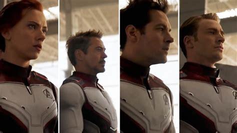 Avengers Endgame Trailer Reveals New Team Costumes Den