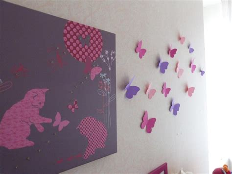 chambre papillon decoration papillon chambre fille 28 images d 233 co