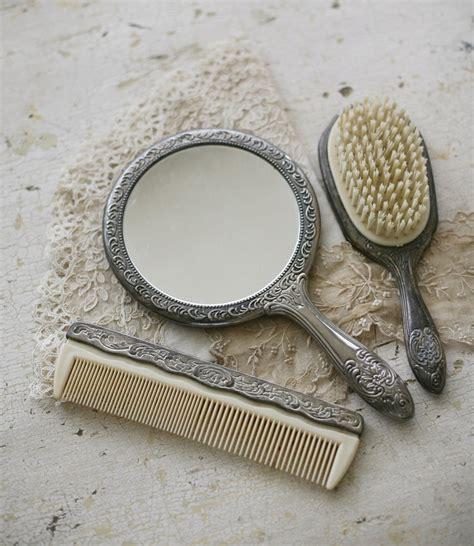 vintage vanity dresser set 1000 images about mirror comb brush vanity sets on