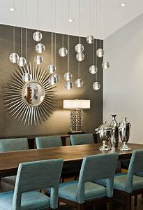 Tyrol hills modern midcentury dining room for Contemporary dining room lighting
