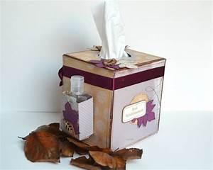 Boite Archive Deco : boite de mouchoirs customis e scrap et d co de tables ~ Teatrodelosmanantiales.com Idées de Décoration
