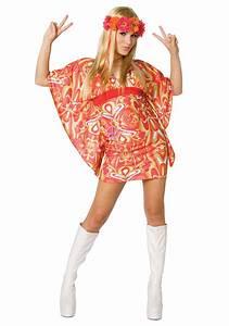 Womens 60s Hippie Costume
