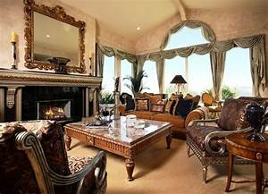 Antique, Style, Living, Rooms