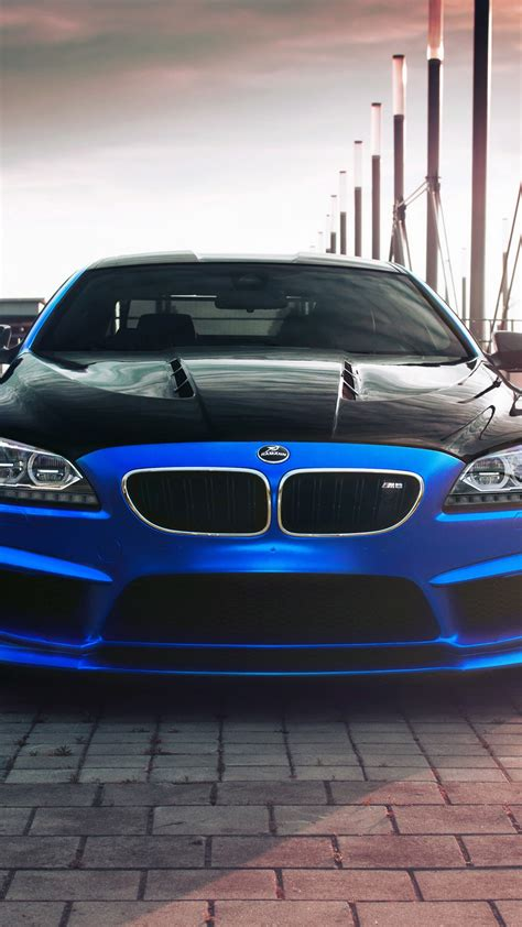 Hamann Bmw Coupe Blaues Auto Iphone