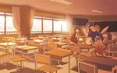 Classroom Background Anime God Desktop Middle Wallpapersafari