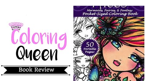 enchanted faces coloring book review youtube