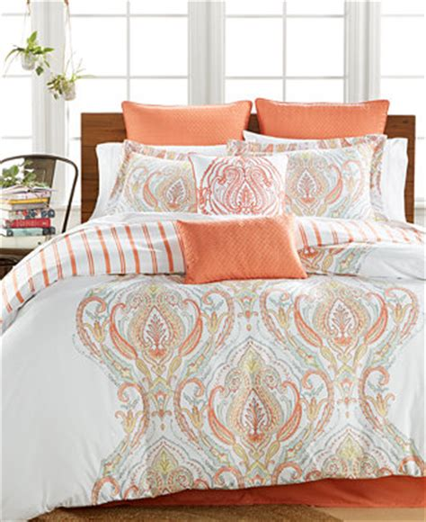macys comforter sets jordanna coral 8 pc comforter sets only at macy s bed