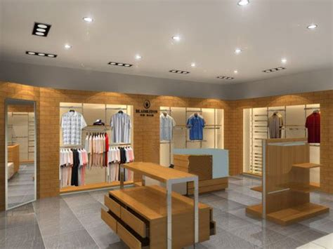 optical store display furniture modern clothes store