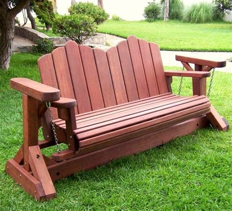 glider rocker bench plans  woodworking outdoor pallet