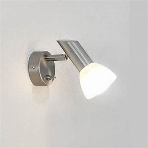 Wandlampe Mit Schalter : wandleuchte wandlampe 9w sparlampe leseleuchte schalter stahl glas led geeign ebay ~ Watch28wear.com Haus und Dekorationen
