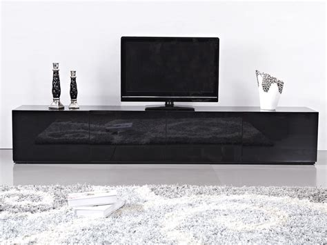 high gloss black suprilla tv unit
