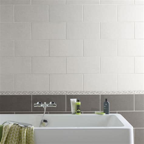 faience grise salle de bain fa 239 ence mur anthracite trend l 20 x l 40 cm leroy merlin