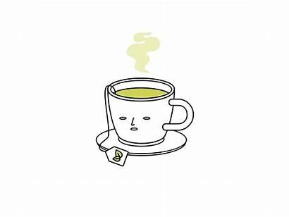 Tea Cup Dribbble