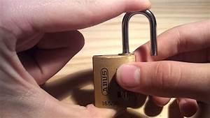 Comment Fermer Un Cadenas A Code 3 Chiffres : changer le code d 39 un antivol modifier la combinaison d ~ Dailycaller-alerts.com Idées de Décoration