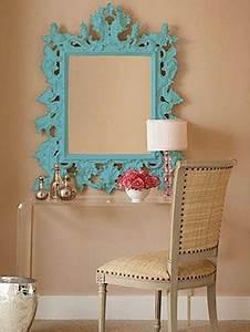 Peinture Argentée Spéciale Miroir : modernisez vos miroirs sculpt s vive la couleur ~ Dailycaller-alerts.com Idées de Décoration