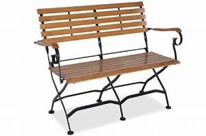 Gartenbank Metall Holz : immer der optimale sitzkomfort mit der gartenbank aus ~ Michelbontemps.com Haus und Dekorationen
