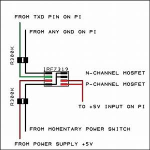 Raspberry Pi Simple Soft On  Off Circuit  U2013 Othermod Com