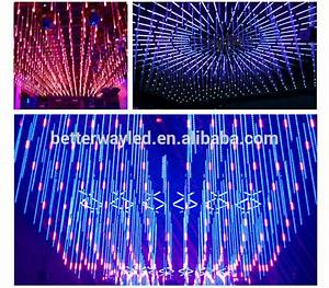 Addressable Pixel Rgb Led Dmx 3d Tube Vertical Rain Tubes