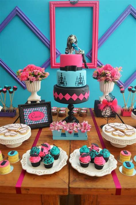 Kara's Party Ideas Monster High Party Planning Ideas
