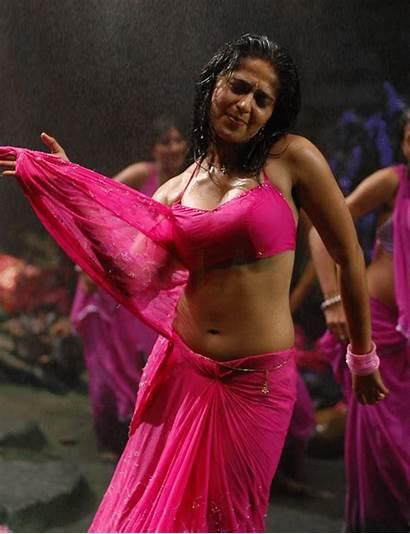 Anushka Actress Wet Navel Shetty Anime Indian