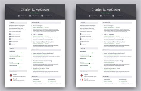 Free Resume Templates For Pages by The Best Free Creative Resume Templates Of 2019 Skillcrush