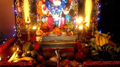 home decoration  ganpati   nileshsony chaitanya
