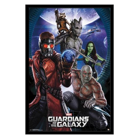 Gardens Of The Galaxy by Trends International Guardians Of The Galaxy Wall