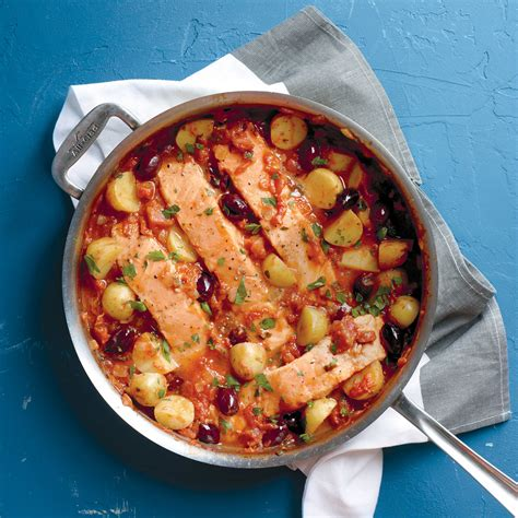 salmon  potatoes  tomato sauce recipe martha stewart