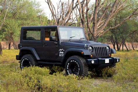 indian jeep modified mahindra thar to jeep wrangler conversion price