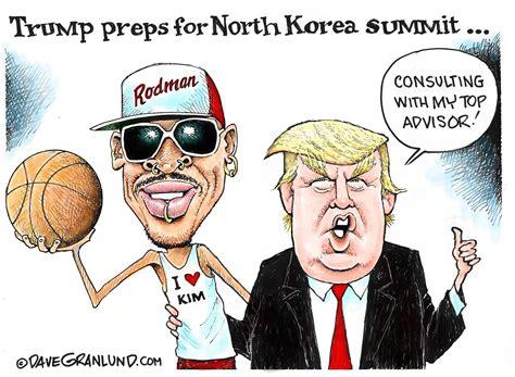 granlund cartoon north korea summit opinion salina