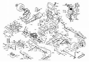 Dixon Ztr 3362  1996  Parts Diagram For Chassis Assembly