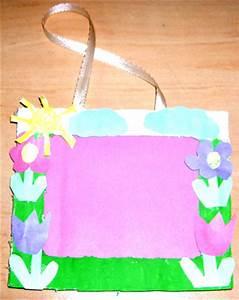 Fabriquer Un Cadre Photo : cadre fleurs pour les photos d 39 enfant t te modeler ~ Dailycaller-alerts.com Idées de Décoration