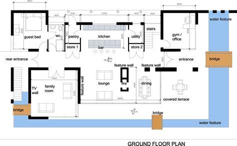 modern home blueprints house interior design modern house plan images