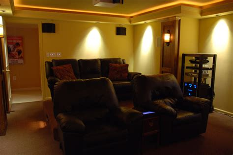 basement diy theater sound vision