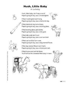 Hush, Little Baby (Poem) by Evan-Moor Educational