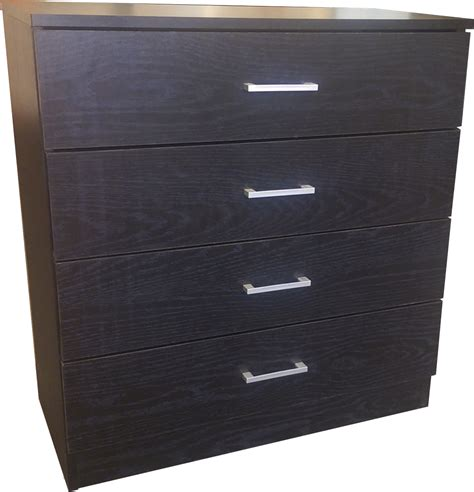 Buy Black Chest Of Drawers by Buy Black Wooden Chest Of 4 Drawers Home Treats Uk