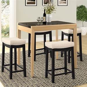 Clearance, Outdoor, Patio, Bar, Stools, Set, Of, 2, 25, U0026quot, Counter, Height, Bar, Stools, With, Upholstered, Seat