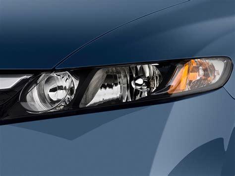 2009 honda civic hybrid 4 door sedan headlight