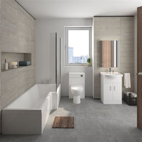Mayford Complete Bathroom Suite  Own Brand Obpack173