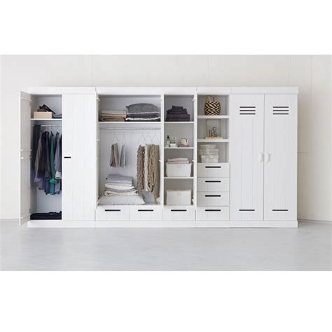 Armoire 3 Portes by Armoire Vestiaire 3 Portes 3 Tiroirs Connect By Drawer