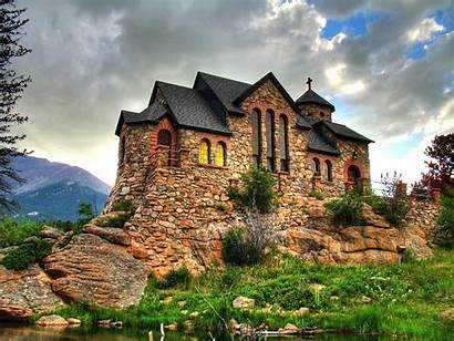 Colorado Churches Rock Chapel Malo Allenspark Heart