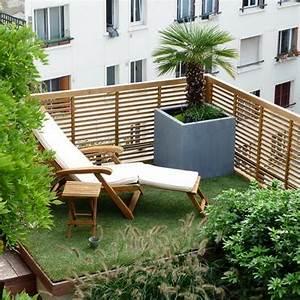 amazing idee deco jardin contemporain 14 id233e With amazing amenagement terrasse et jardin photo 14 deco salon moderne