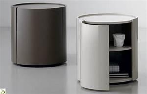 Comodino rotondo moderno Urigi Arredo Design Online
