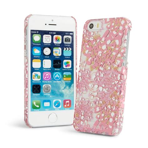 vera bradley iphone 5 vera bradley clear chic for iphone 5 in blooms pink