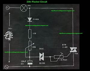 230v Flasher Circuit