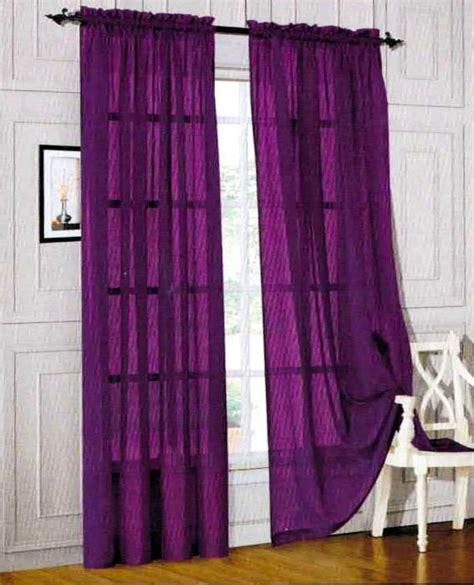 sheer purple curtains furniture ideas deltaangelgroup